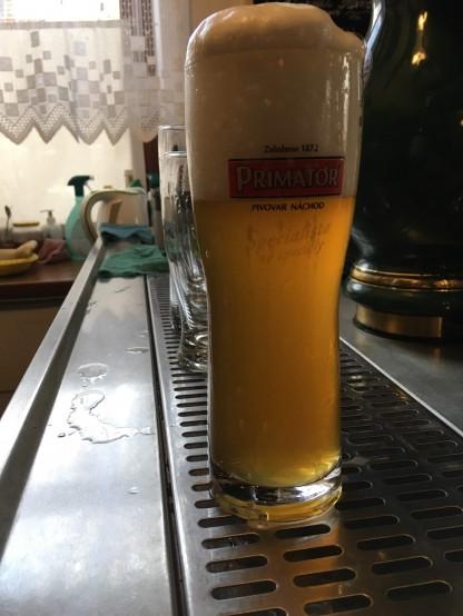 Čepování piva u nás se sládkem a ředitelem pivovaru Primátor!