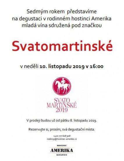Degustace Svatomartinských vín 10.11.2019!