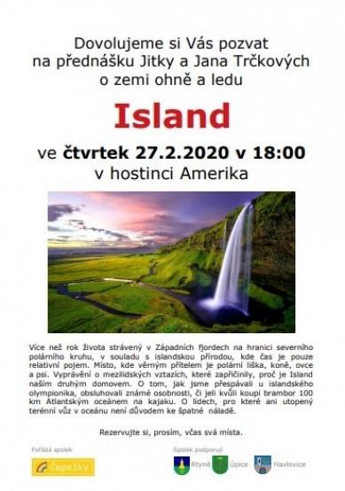 Beseda o Islandu v únoru 2020!